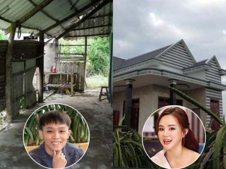 Kiếm tiền tỷ nhưng nhà ở quê của Hồ Văn Cường, Vy Oanh lại cũ kỹ, xuống cấp