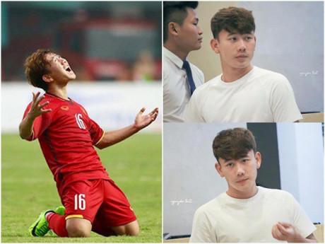 """Minh Vương-cầu thủ soái ca ghi bàn vào lưới UAE phút cuối: Tài năng nhưng từng """"không gặp may"""""""