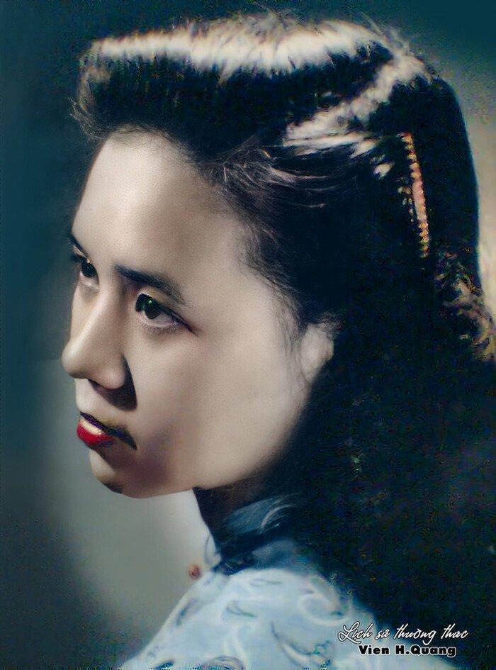 Ngắm ảnh phục chế của Hoa khôi trường Dược Hà Nội 1955, nhan sắc thuyết phục ngỡ ngàng