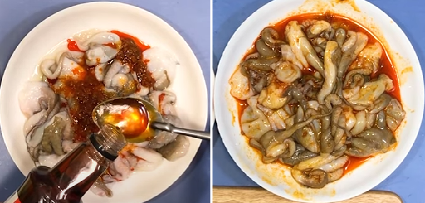 Cách làm bạch tuộc xào sa tế giòn giòn cay cay hấp dẫn - 4
