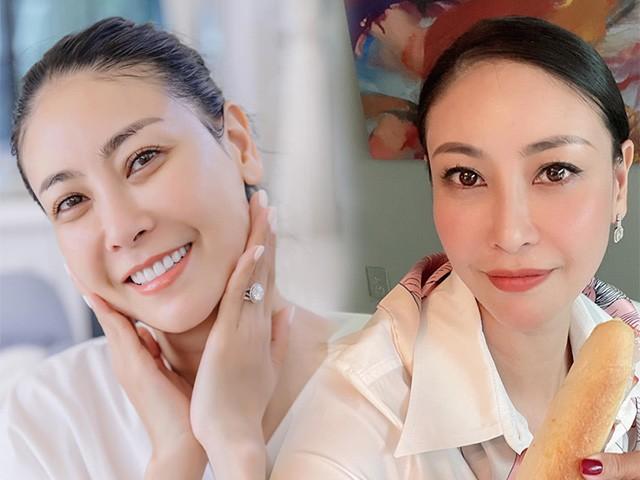 Tự tin khoe mặt mộc tuổi 45, Hà Kiều Anh làm gì để trẻ đẹp thế này?