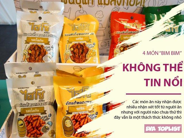 4 món bim bim ngoài sức tưởng tượng, loại ở Việt Nam tính ra lại bình thường nhất