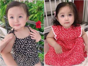 Sao Việt 24h: Ngắm con gái mắt to, xinh như búp bê của ca sĩ Ngọc Anh và tình trẻ