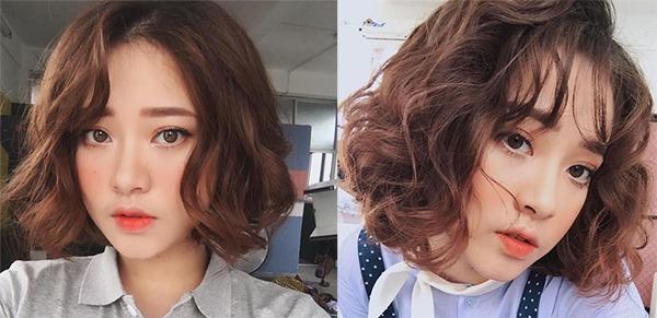14 Kiểu tóc ngắn xoăn sóng đẹp trẻ trung dẫn đầu xu hướng hiện nay
