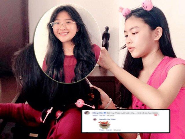 Hồng Vân phản ứng bất ngờ khi 2 Hoa hậu tương lai nhà mình và Quyền Linh chung khung hình