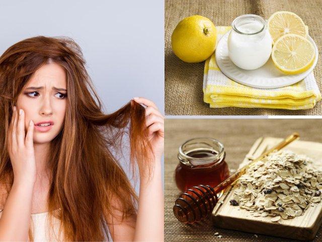 Tóc khô, xơ không còn là nỗi lo nếu biết tận dụng những nguyên liệu rẻ tiền này