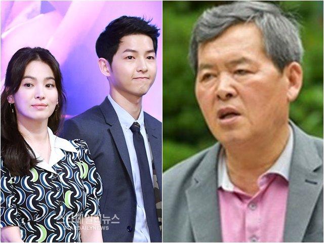 Bố Song Joong Ki chính thức nói về vụ ly hôn của con trai: Lỗi thuộc về bản thân tôi