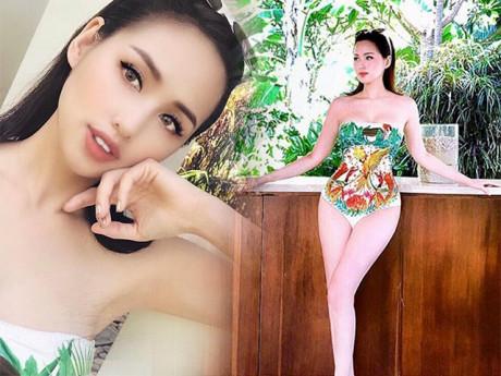Hot girl Tâm Tít thiêu đốt mạng xã hội với bikini, khoe sắc vóc trẻ như gái 18