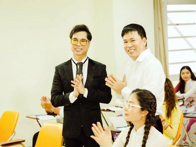 Ngọc Sơn làm thầy giáo tiếng Anh trong MV của học trò Michael Lang, không nhận cát-xê