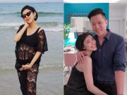 Mang bầu thấy đau chân ban đêm, nữ MC Sài Gòn   hết hồn   với phản ứng của chồng