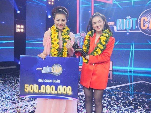 Lên ngôi Quán quân show truyền hình, diễn viên Thanh Hương ẵm nửa tỷ đồng
