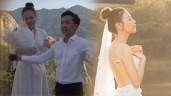 Vợ sắp cưới của Cường Đô La được NTK tận tay lấy số đo để may váy cưới độc nhất