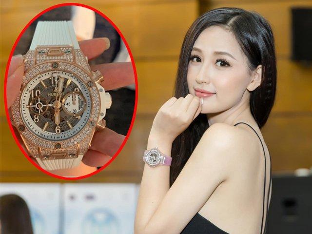 Tự cảm thấy hơi đàn ông, Mai Phương Thuý đặt đồng hồ to trị giá gần 1,4 tỷ để đeo