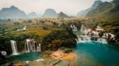 Vẻ đẹp hùng vĩ của non nước Cao Bằng nhìn từ trên cao