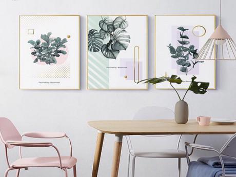 Những mẫu tranh treo phòng khách đẹp nhất bạn không thể bỏ qua