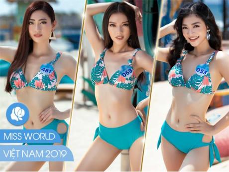 Thí sinh Miss World Việt Nam thiêu đốt ánh nhìn với bikini 2 mảnh quyến rũ tột cùng
