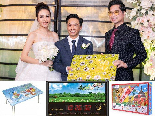 Sự thật về món quà bí ẩn Ngọc Sơn tặng Cường Đô La và Đàm Thu Trang trong đám cưới