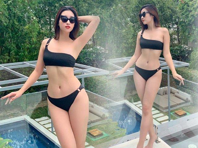 Đỗ Mỹ Linh nóng bỏng với bikini 2 mảnh, fan nhận xét: Bức ảnh hở nhất từ trước đến giờ