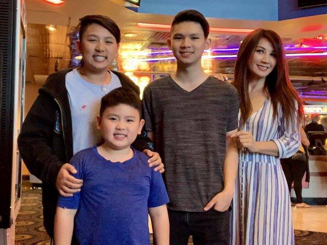 Sao Việt 24h: Con trai Bằng Kiều cao vượt trội, đã hơn mẹ hẳn một cái đầu