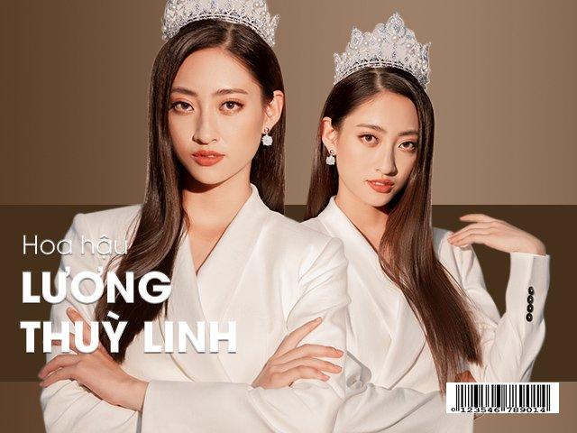 Hoa hậu Lương Thuỳ Linh: Tôi phải đi mượn của bạn 6 chiếc váy để thi Miss World Việt Nam.