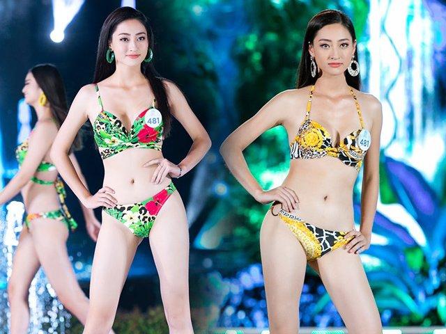 Ít ai biết rằng Hoa hậu Lương Thuỳ Linh thuộc top mỹ nhân có vòng ba khủng nhất nhì Vbiz