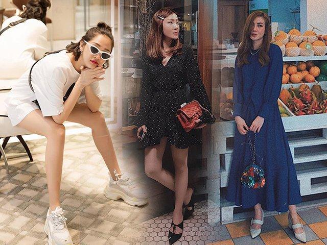 Nhờ mấy chiêu chọn giày này, nhiều người đẹp Việt có thể giấu nhẹm nhược điểm chiều cao