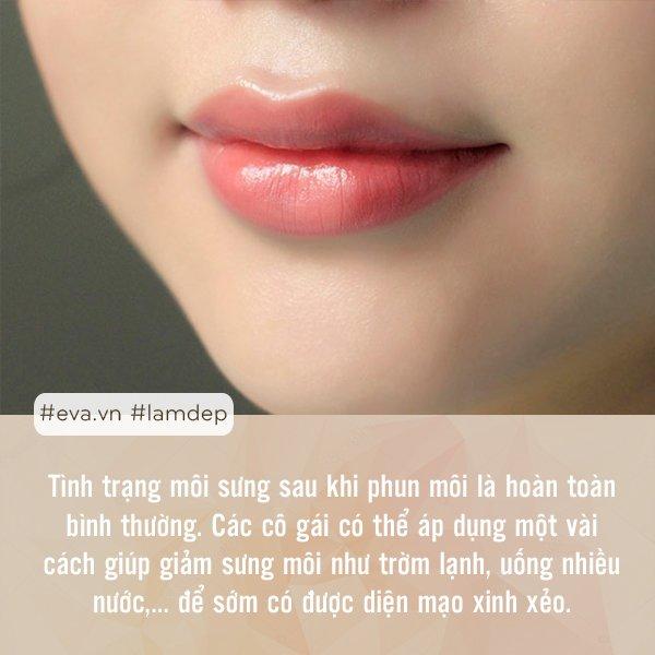 Chị em cần biết những điều này trước khi quyết định phun xăm môi để tránh tiền mất, tật mang