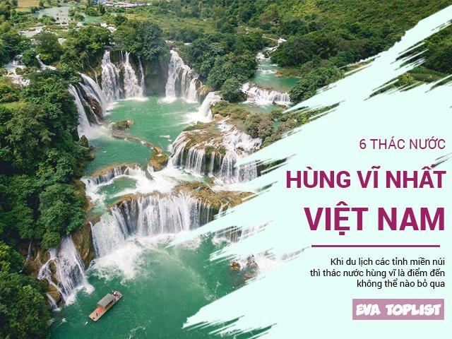 5 thác nước đẹp nhất Việt Nam từ Bắc vào Nam