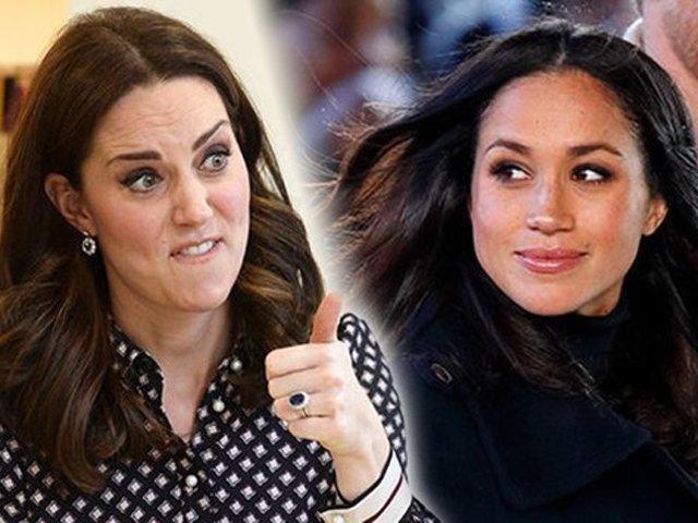 Meghan Markle từng phát cuồng Công nương Kate trước khi ghét chị dâu như xúc đất đổ đi?