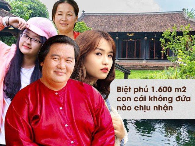 Kỳ lạ gia đình Hoàng Mập: Con ở biệt phủ 1.600m2 không biết bố giàu, vợ trông như giúp việc