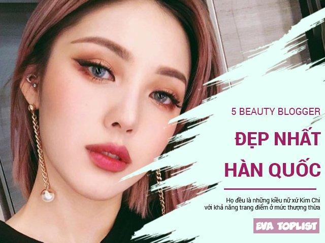 Top 5 beauty blogger sắc đẹp nổi bật nhất Hàn Quốc