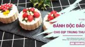 Khám phá 6 loại bánh Trung thu vô cùng độc đáo lại đẹp mê người