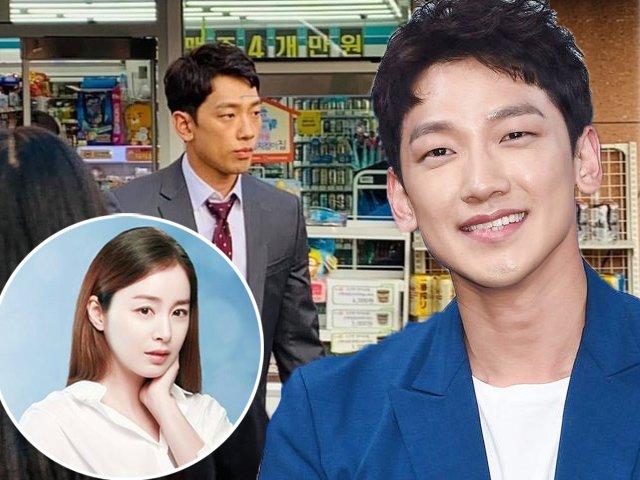 Kim Tae Hee bầu sắp đẻ, Bi Rain gầy hốc hác vẫn đi đóng phim kiếm tiền