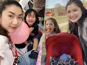 Mỹ nhân Việt theo chồng ra nước ngoài: Người bán hàng online nuôi con, người mua biệt thự liên tục
