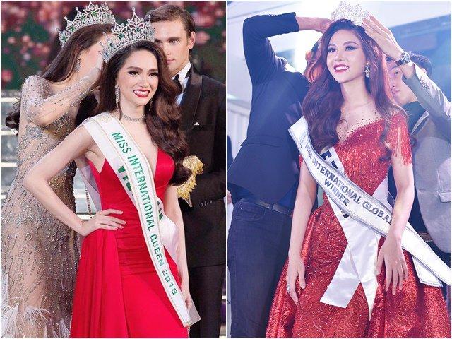 Vì sao khán giả liên tục gọi tên Hương Giang khi Nguyễn Mỹ Huyền đăng quang Hoa hậu?