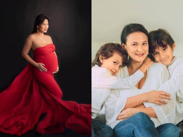 Vợ mới của chồng cũ Hồng Nhung khoe bụng bầu vượt mặt, chuẩn bị chào đón con thứ 3