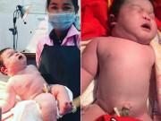 Sản phụ đẻ thường em bé   khổng lồ   6,8kg, danh tính đứa trẻ khiến mẹ Việt ngạc nhiên