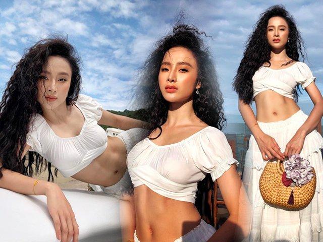 Angela Phương Trinh diện áo crop-top, khoe cơ bụng số 11 xuất sắc
