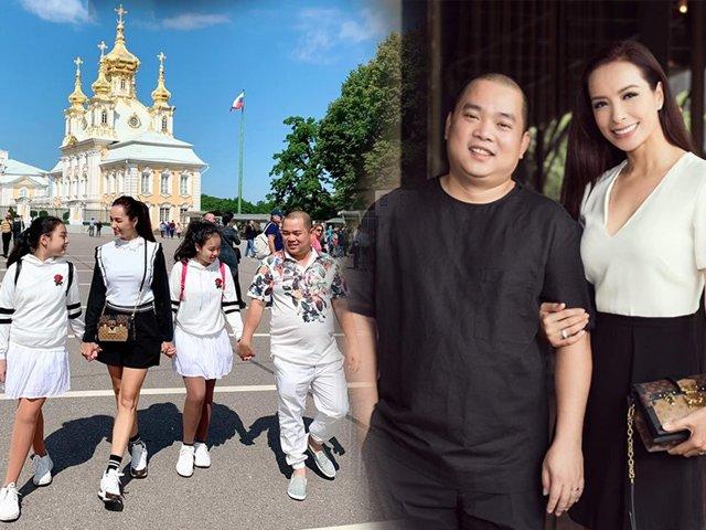 Không riêng nhà Quyền Linh, gia đình Thuý Hạnh cũng chăm diện đồ ăn ý khiến CĐM ngưỡng mộ