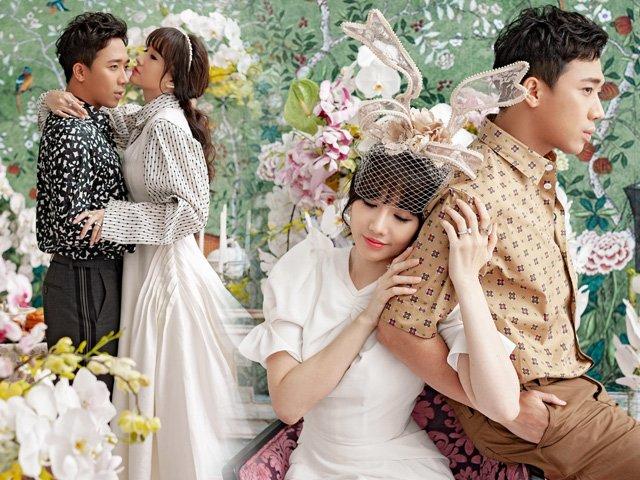 Tung bộ ảnh tình tứ như thuở mới hẹn hò, Trấn Thành - Hari Won khiến fan thích thú