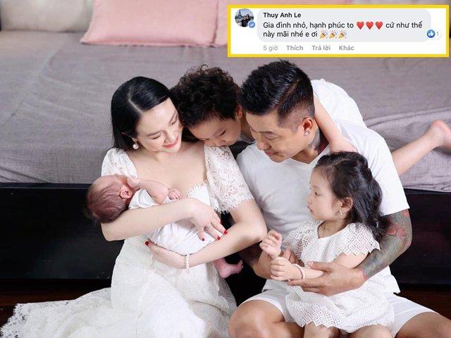 Sao Việt 24h: Đầy tháng con trai thứ 3, vợ chồng Tuấn Hưng khoe loạt khoảnh khắc cực yêu