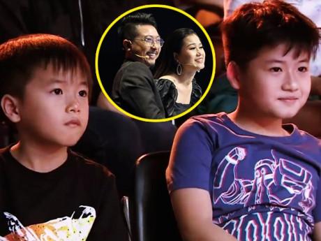 2 con Lâm Vỹ Dạ hút toàn bộ khán giả: Sợ bị mẹ đuổi ra đường, không dám nghe bố