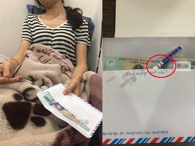 Tình cũ của chồng gửi quà mừng đầy tháng con, vợ suy sụp khi phong bì vừa mở