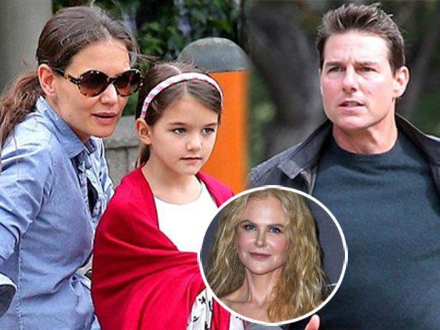Sợ Suri bị bố ép uổng sau thời gian bỏ rơi, Katie Holmes tìm vợ cũ Tom Cruise cầu cứu