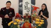 Phương Mỹ Chi bị nhắc nhở vì mặc hở khi thắp hương cúng Tổ nghiệp