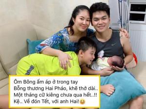 Sao Việt 24h: Vừa sinh con chưa hết cữ, Lê Phương đã làm điều xúc động vì con trai lớn