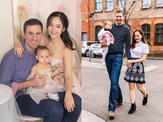 Cưới chồng Tây cao 2m, Lan Phương bị hỏi khó chuyện dạy con tiếng Việt hay tiếng Anh?