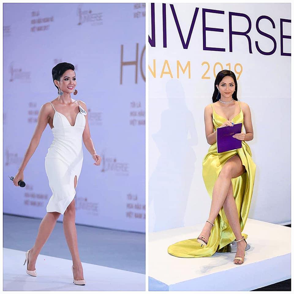 Đăng ảnh chấm thi Miss Universe Vietnam 2019, H'Hen Niê lộ dáng mũm mĩm, đập tan tin đồn nâng ngực