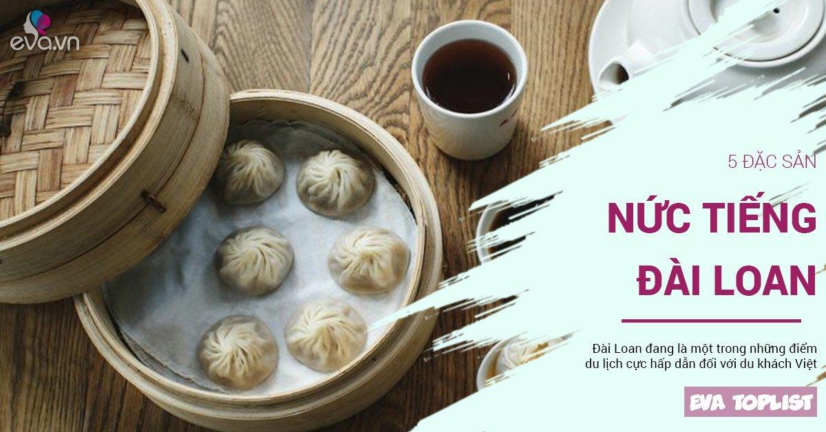 Không phải trà sữa, 5 món ăn này mới là các đặc sản Đài Loan không thể bỏ qua