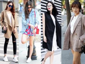 Những kiểu áo khoác nhẹ mùa thu không thể thiếu trong tủ đồ của các chị em